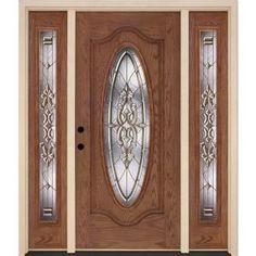 Front doors back doors on pinterest entry doors home for Home depot back doors