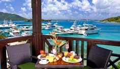 Scrub Island Resort: Tierra Tierra is an open-air terrace restaurant with gorgeous views of the marina.