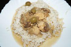 Sauté poulet olives champignons au cook expert