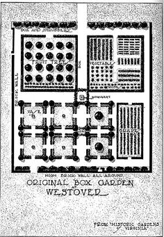 Colonial Garden Blueprint