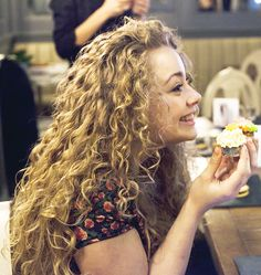 Carrie Hope Fletcher being adorable