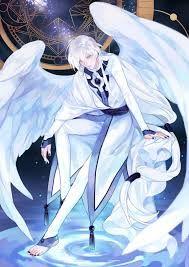 Anime Cute Sheep Angel Boy White Hair Google Search Anime