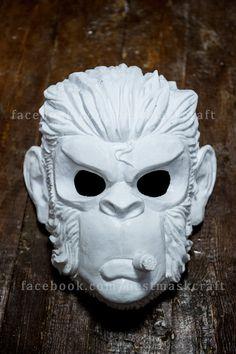 Etsy - Inspired Space Monkey GTA mask game Halloween cosplay