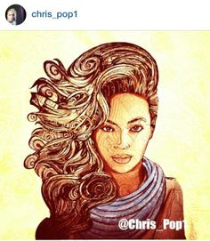 Brilliant <3 #Beyonce #art #creative #musician