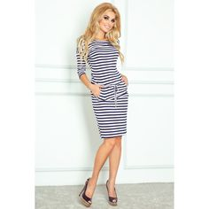 Look at this Numoco Blue & White Stripe Drop-Waist Dress on today! Style Sportif Chic, Sporty Chic Style, Dresses Australia, Luxury Dress, Drop Waist, Dress Backs, Well Dressed, Simple Style, Casual Looks