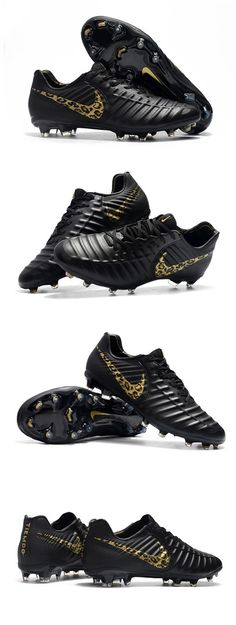 Nike Tiempo Legend 7 Elite FG New Soccer Cleats - Black Safari Top Soccer, Mens Soccer Cleats, Soccer Boots, Football Boots, Nike Soccer, King Sport, Nike Air Max, Studs, Heels