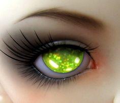 shimmer light green