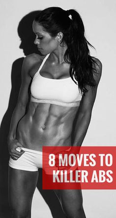 This abs workout routine combines fat-burning cardio with moves that target your entire core rather than individual muscles so you'll burn more fat while toning up. Feel the results the first week, see the toned abs start to show in the third. #abs #fitness #workout