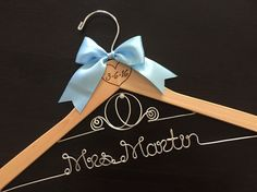 A personal favorite from my Etsy shop https://www.etsy.com/listing/255123769/disney-bride-hanger-cinderella-hanger