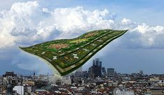 Flying Grass Carpet