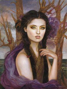mererecorder: Violet by *PinkParasol | Cara Sposa