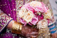 Pakistani wedding bridal bouquet