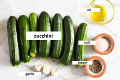 This easy Grilled Zucchini recipe requires just 5 ingredients (salt, pepper, and oil included!) and 20 minutes - for simple garlicky, lightly charred zucchini that can be made year-round. It's the perfect side dish for potlucks, BBQs, and grill season! Zucchini Dinner Recipes, Grilled Zucchini Recipes, Snack Recipes, Snacks, Potluck Side Dishes, Swimming Benefits, Lime And Basil, Summer Grilling Recipes, Potlucks