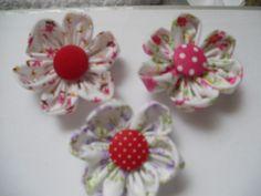 Flores De Fuxico | marilene bordados | Elo7