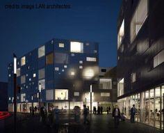 72 collective housing - Begles