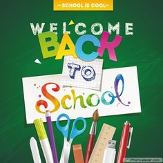 School Is Cool Welcome Back To School