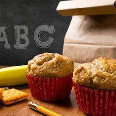 Peanut Butter Banana Muffins Recipe from FarmerOwned.com