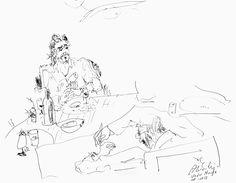 portrait of fernando guerra by álvaro siza