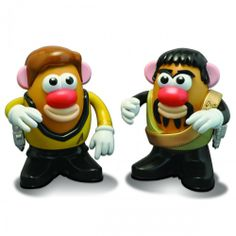 Star Trek Kirk/Kor Mr. Potato Head Set | Shop By Series | The Original Series | Star Trek Store