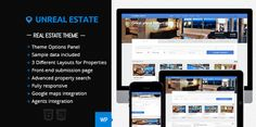 Unreal Estate - Real Estate WordPress Theme :  Check out this great #themeforest item 'Unreal Estate - Real Estate WordPress Theme' http://themeforest.net/item/unreal-estate-real-estate-wordpress-theme/5633361?ref=25EGY