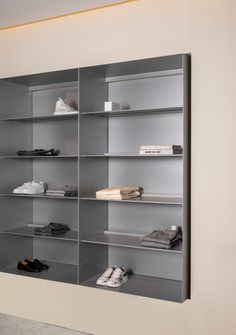 Norm Architects refreshes Alsterhaus' menswear department Shelf Design, Display Design, Home Decor Furniture, Cabinet Furniture, Wood Shelving Units, Clothing Store Interior, Herringbone Wall, Retail Shelving, Retail Store Design