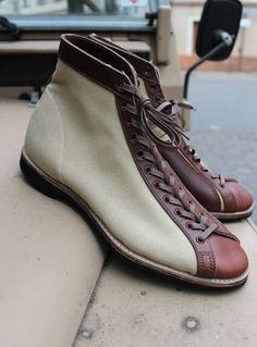 Leather 'n Canvas 30's Sneakers Repro