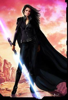 Female Sith Warrior by Aldomartinez