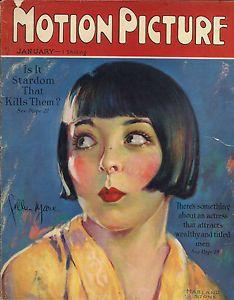 MOTION PICTURE 1927 COLLEEN MOORE