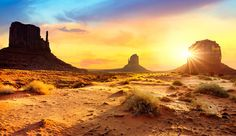 Monument Valley at the Utah-Arizona Border