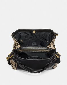 Coach Edie Shoulder Bag 31 With Blocked Leopard Print Alternate View 2 Calf  Leather 27416a4a2c387