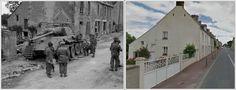 Carro Panther distrutto a     Bretteville-l'Orgueilleuse      #NORMANDIA1944