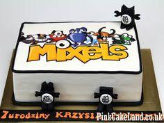 #Mixels Birthday Cake, More novelty cakes http://www.pinkcakeland.co.uk