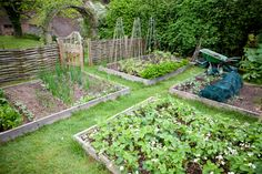 Here are some creative ideas for using raised garden beds: