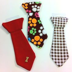 Snazzy Dog Ties-- slide on collar ($2.50 each)
