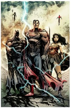 Justice League by Fpeniche A trindade