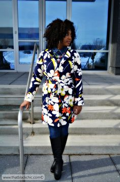 Sew What? Flower Power In The Winter Time, that's What! [Simplicity 1016 Pattern review]