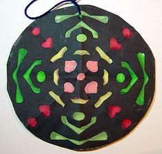Fourth Grade Art Lesson 13 | Looking at a Rose Window Part 2 Filling in the Shapes with Color