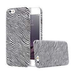 """Cool 6S Zebra Acrylic Back Case For Apple iPhone 6 6S 4.7"""" Phone Cover Bag Woman&Men HardPC Capa For iPhone 6S Coque Armor Shell"""