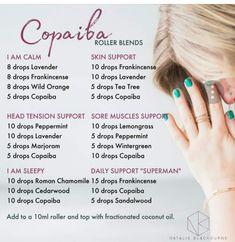 Strategies to guide you Maximize Your own being familiar with of doterra oils Copaiba Essential Oil, Essential Oil Diffuser Blends, Doterra Essential Oils, Doterra Blends, Copaiba Oil Uses, Essential Oils For Inflammation, Yl Oils, Elixir Floral, Aromatherapy Oils