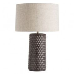 Buy the Arteriors Charcoal Direct. Shop for the Arteriors Charcoal Paula Table Lamp and save. Light Table, Lamp Light, Contemporary Table Lamps, Lamp Socket, Ceramic Table Lamps, Incandescent Bulbs, Drum Shade, Modern Lighting, Copper Lighting