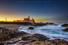 """The Lighthouse in """"Guincho"""", Portugal by Ricardo Bahuto Felix on 500px"""