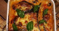 Tämä munakoisovuoka on kasvisruokien aatelia. No, mitä muuta voisikaan olla kuin täydellistä herkkua kun yhdistää mozzarellan, parmesaanijuu... Vegetable Recipes, Lasagna, Side Dishes, Food And Drink, Cooking Recipes, Vegan, Chicken, Vegetables, Ethnic Recipes
