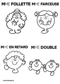 Mme Follette Mme Farceuse Mme Retard Mme Double