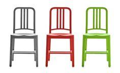 "Plastic ""Army"" chair (ELITE LIVING)"