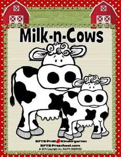 Milk-n-Cows (5-day Thematic Unit) from RFTS PreK-Kindergarten on TeachersNotebook.com -  (50 pages)  - Milk-n-Cows (5-day Thematic Unit)Includes Patterns and Printables  50 pages  In this unit; we discover where milk comes from. We discuss cows, dairy foods and learn about where our food comes from.