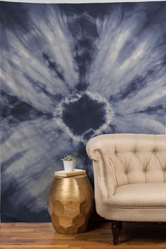 Amy Sia Tie Dye Navy Tapestry | DENY Designs Home Accessories
