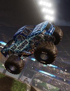 Big Trucks, Thunder, Monster Trucks, Vehicles, Blue, Car, Big Rig Trucks, Vehicle, Tools