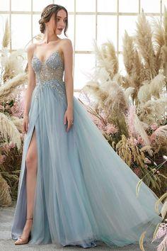 Homecoming Dresses Long, Split Prom Dresses, Prom Dresses For Teens, Cute Prom Dresses, Dresses To Wear To A Wedding, Tulle Prom Dress, Short Prom, Bridesmaid Dresses, Dress Wedding