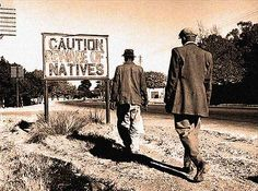 Two African men walk past a sign common in apartheid South Africa, Johannesburg, circa 1956 - [[MORE]] namraka: Original caption: circa A sign common in Johannesburg, South Africa, reading. African Men, African History, The Spanish American War, Canadian Soldiers, Sign Image, Jim Crow, Walk Past, Nelson Mandela, Historical Photos