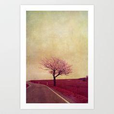 spring field Art Print by Claudia Drossert - $18.72